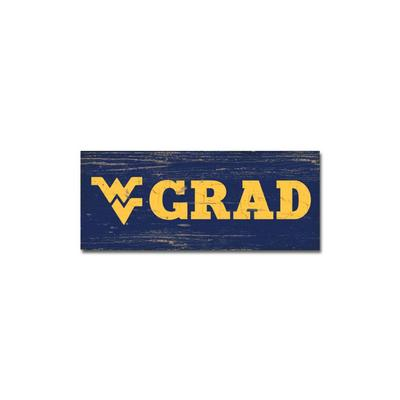 West Virginia Legacy Mini WV Grad Table Stick