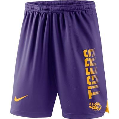 LSU Nike Breathe Knit Player Shorts