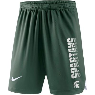 Michigan State Nike Breathe Knit Player Shorts