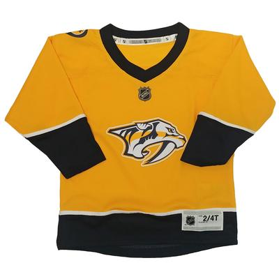 Nashville Predators Toddler Replica Hockey Jersey