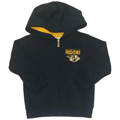 Nashville Predators Toddler Full Zip Hoodie