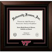 Virginia Tech Legacy Logo Diploma Frame