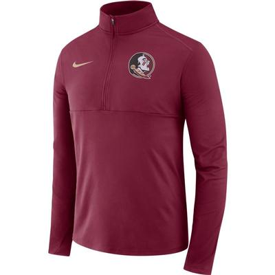 Florida State Nike Dri-FIT Core 1/2 Zip Long Sleeve Pullover