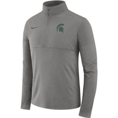 Michigan State Nike Dri-FIT Core 1/2 Zip Long Sleeve Pullover