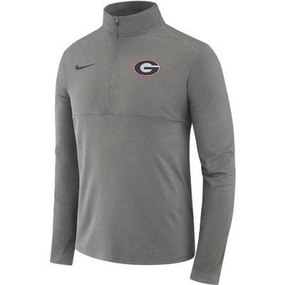 Georgia Nike Dri-FIT Core 1/2 Zip Long Sleeve Pullover