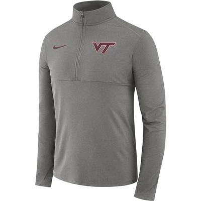 Virginia Tech Nike Dri-FIT Core 1/2 Zip Long Sleeve Pullover