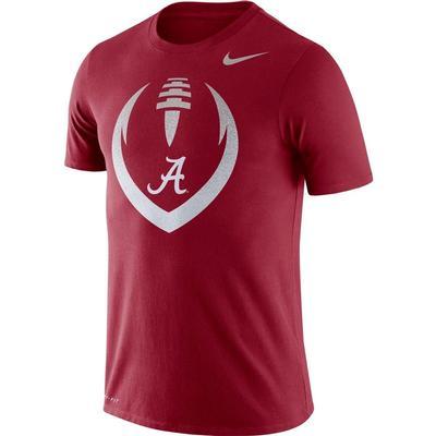 Alabama Nike Dri-FIT Cotton Short Sleeve Icon Tee TEAM_CRIMSON