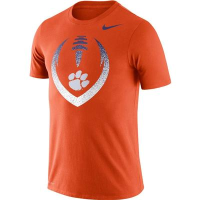Clemson Nike Dri-FIT Cotton Short Sleeve Icon Tee