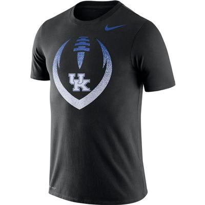 Kentucky Nike Dri-FIT Cotton Short Sleeve Icon Tee BLACK
