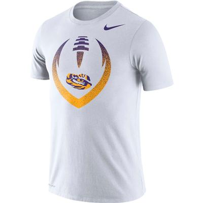 LSU Nike Dri-FIT Cotton Short Sleeve Icon Tee