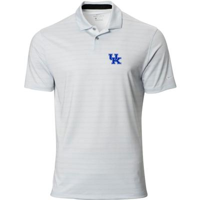 Kentucky Nike Golf UK  Vapor Stripe Polo PURE_PLATINUM