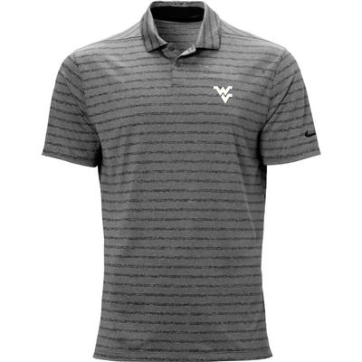 West Virginia Nike Golf WV Vapor Stripe Polo
