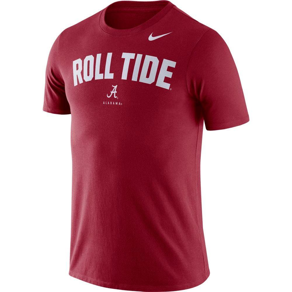 Alabama Nike Dri- Fit Cotton Short Sleeve Local Tee