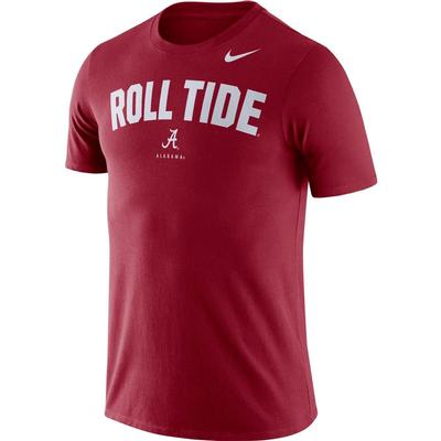 Alabama Nike Dri-FIT Cotton Short Sleeve Local Tee