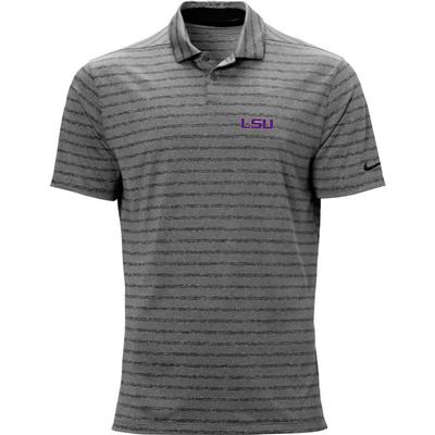 LSU Nike Golf Logo Vapor Stripe Polo