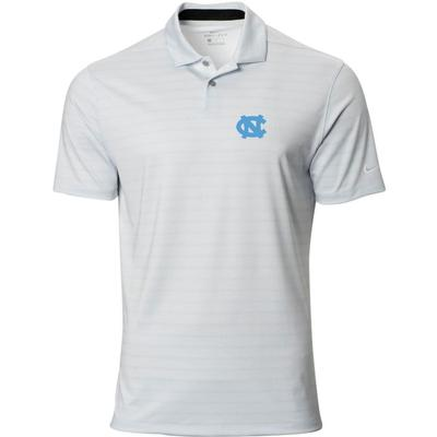 UNC Nike Golf Logo Vapor Stripe Polo