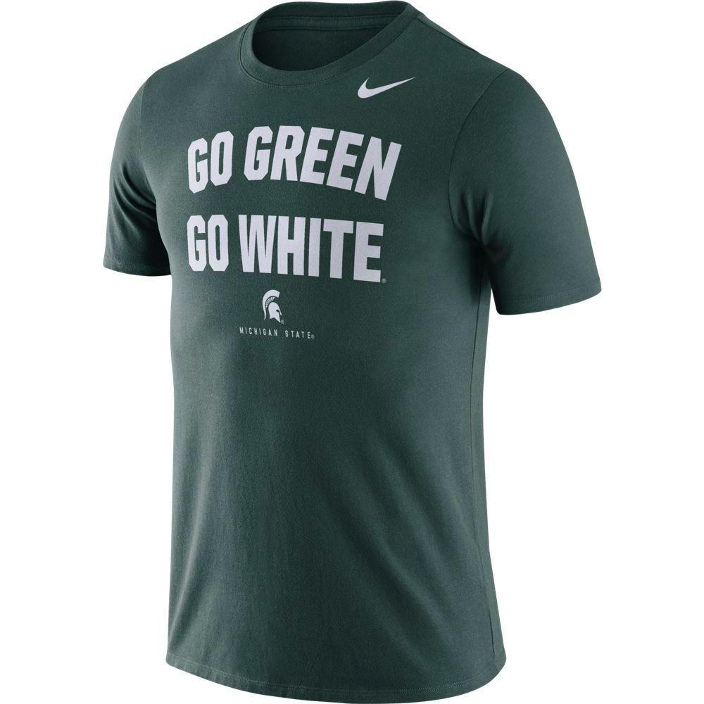 Michigan State Nike Dri- Fit Cotton Short Sleeve Local Tee