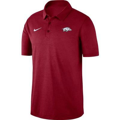 Arkansas Nike Dry Polo CRIMSON