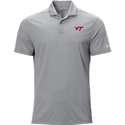 Virginia Tech Nike Golf Logo Texture Victory Polo