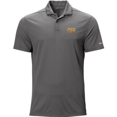 Florida State Nike Golf Logo Texture Victory Polo