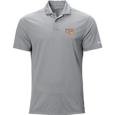 Florida State Nike Golf Logo Texture Victory Polo