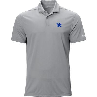 Kentucky Nike Golf UK Logo Texture Victory Polo WOLF_GREY