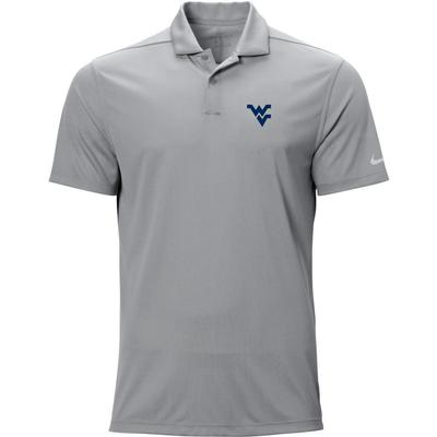 West Virginia Nike Golf WV Logo Texture Victory Polo