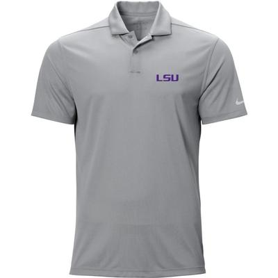 LSU Nike Golf Logo Texture Victory Polo