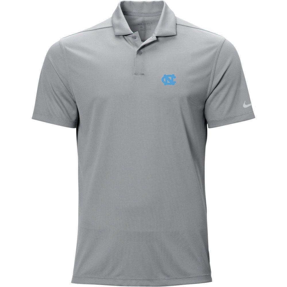 North Carolina Nike Golf Logo Texture Victory Polo