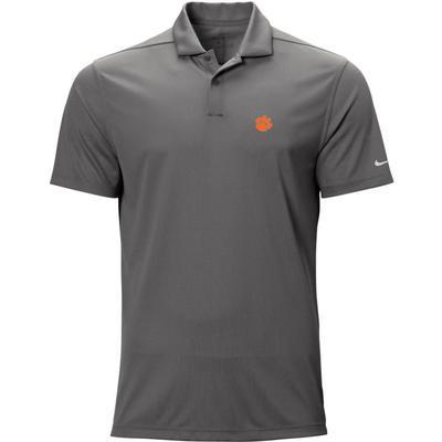 Clemson Nike Golf Logo Texture Victory Polo