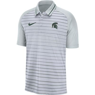 Michigan State Nike Dri-FIT Striped Polo