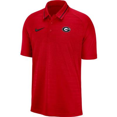 Georgia Nike Dri-FIT Striped Polo