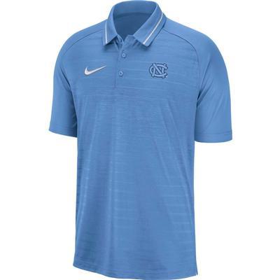 UNC Nike Dri-FIT Striped Polo VALOR_BLUE