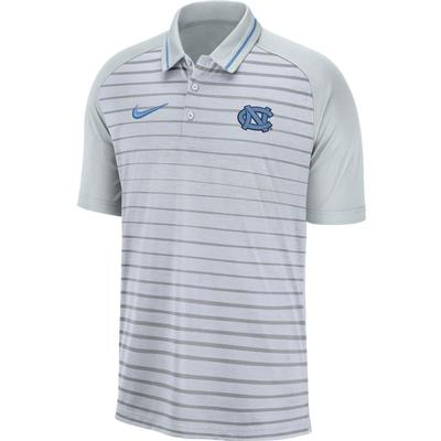 UNC Nike Dri-FIT Striped Polo