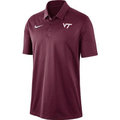 Virginia Tech Nike Dry Franchise Polo MAROON