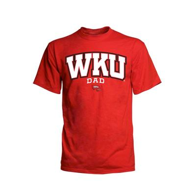 Western Kentucky Arch Dad Short Sleeve Shirt