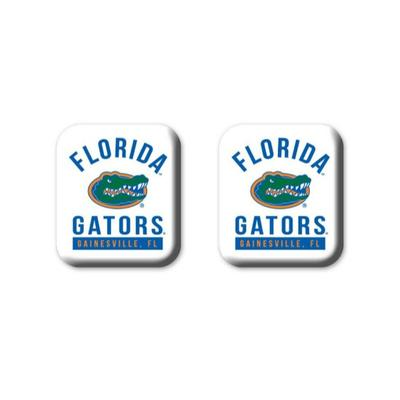 Florida Legacy Square Fridge Magnets 2 pack