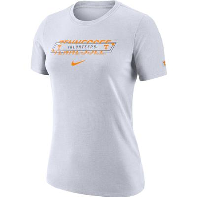 Tennessee Nike Women's Dri-FIT Cotton Crew Tee