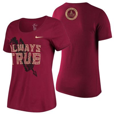Florida State Nike Women's True Seminole T Shirt