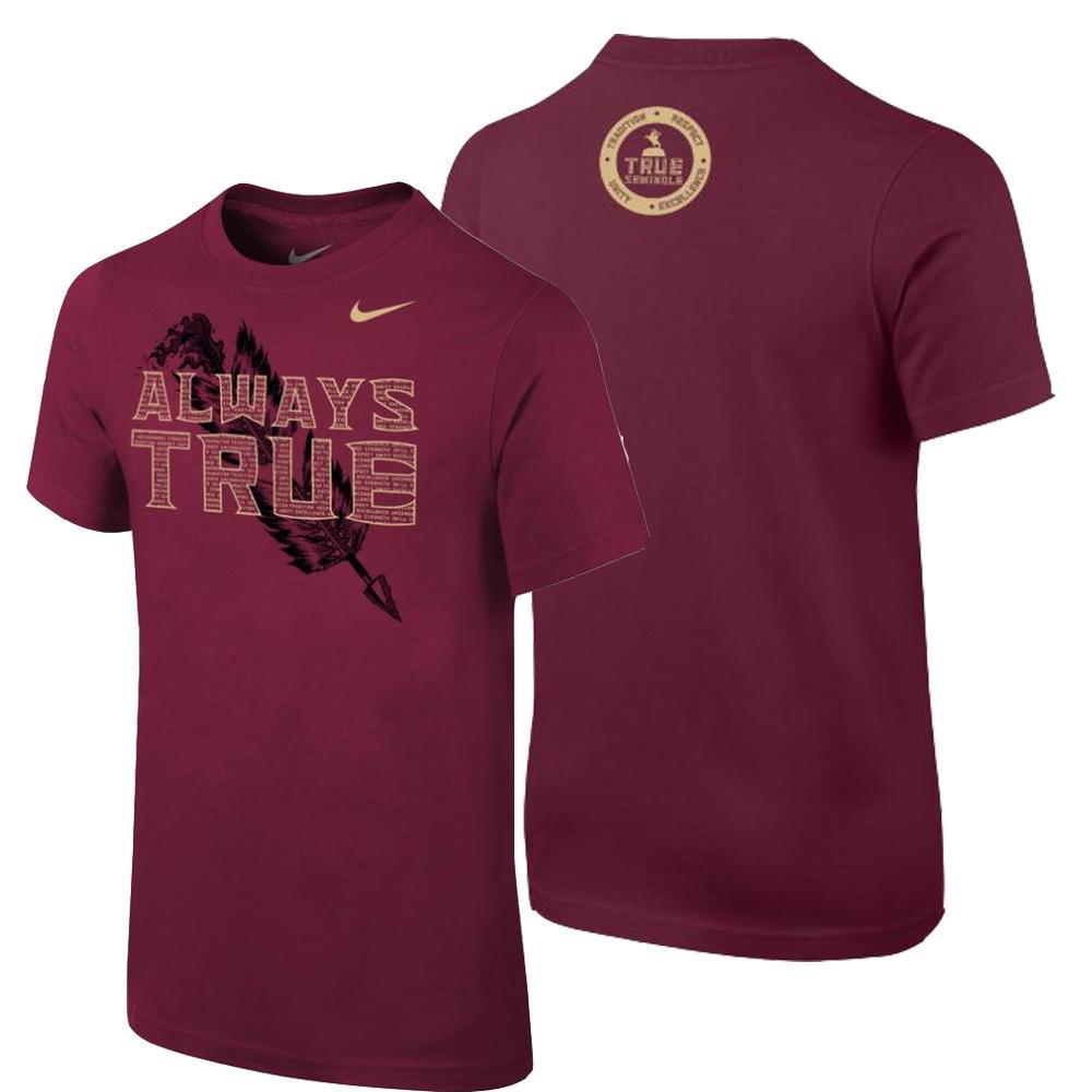 Florida State Nike Youth True Seminole T Shirt