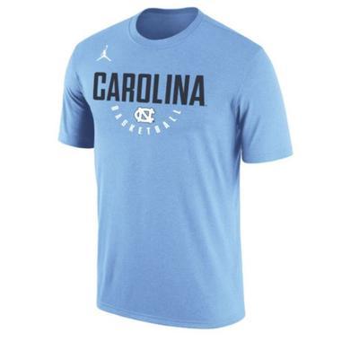 North Carolina Nike Dri-FIT Key Basketball T Shirt