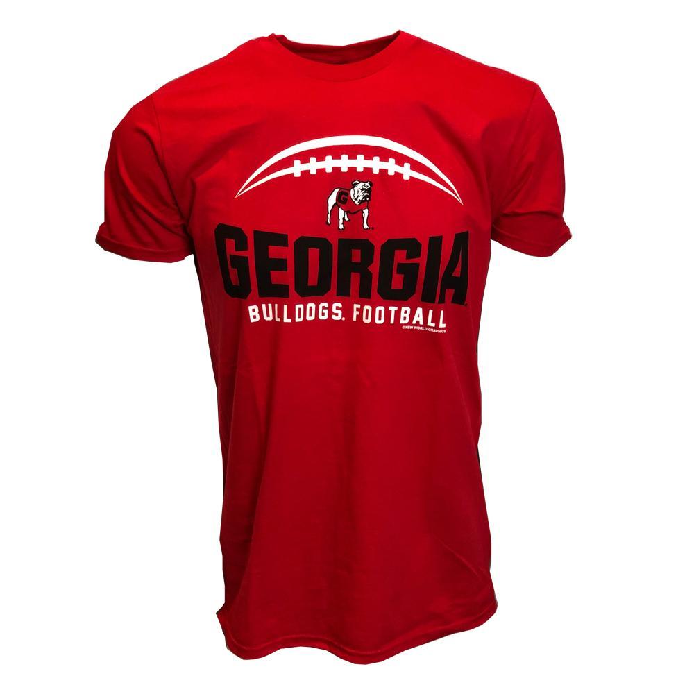 Georgia Football Laces T- Shirt