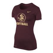 Florida State Nike Women's Legend Softball T Shirt