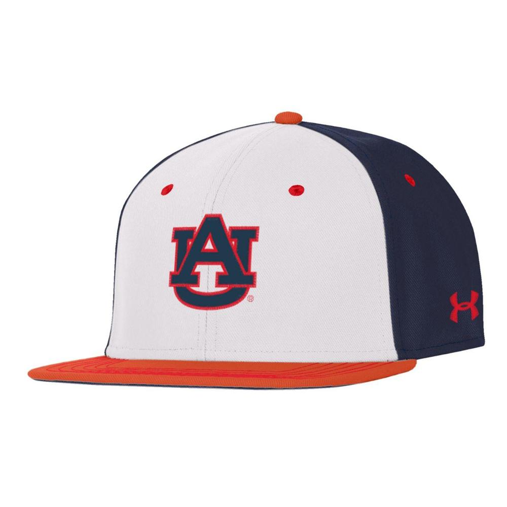 Auburn Under Armour On Field Fitted Baseball Cap
