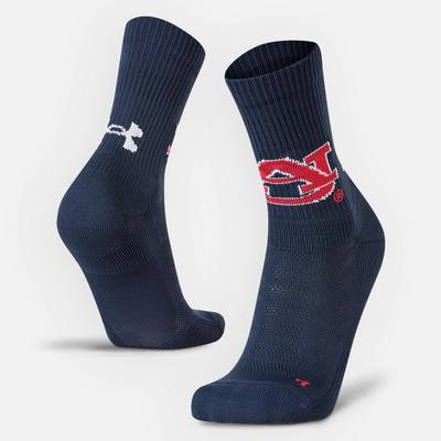 Auburn Under Armour Unrivaled Crew Socks