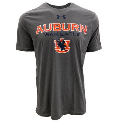 Auburn Under Armour Eagle Logo T Shirt
