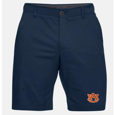 Auburn Under Armour Logo Show Down Golf Short