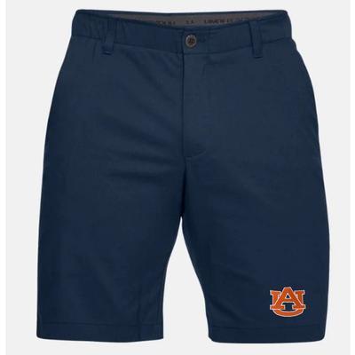 Auburn Under Armour Logo Show Down Golf Short NAVY