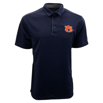 Auburn Under Armour Logo Tech Polo