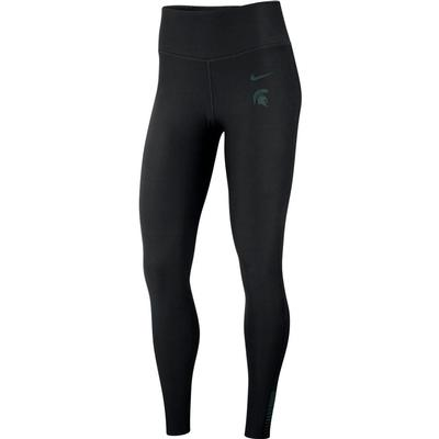 Michigan State Nike Women's Power Sculpt Tights